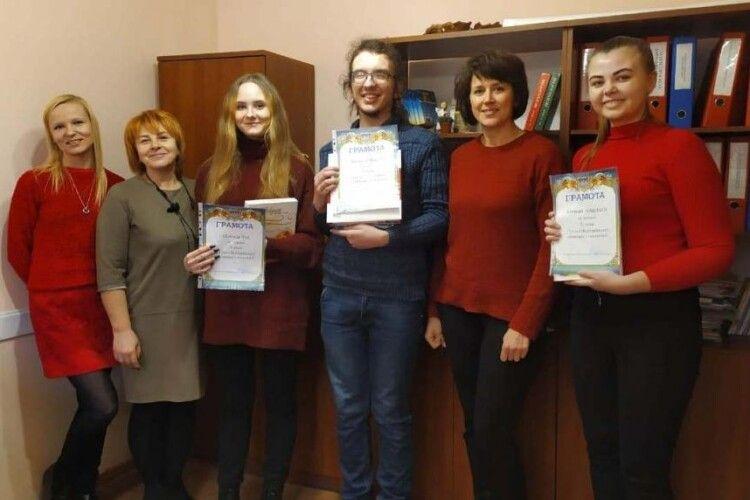 Троє волинських студентів стали переможцями І етапу Всеукраїнської студентської олімпіади з психології