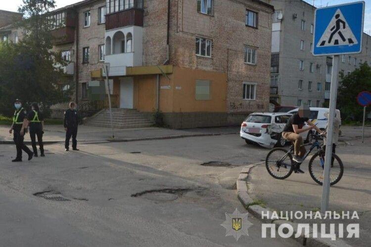 У Ковелі легковик зіткнувся з мотоциклом: подробиці ДТП (Фото)