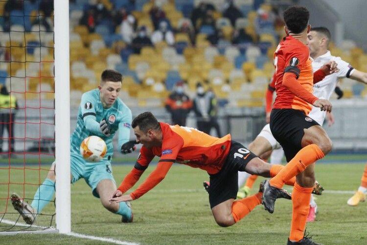 «Шахтар» у непростому поєдинку здолав «Маккабі» і вийшов до 1/8 Ліги Європи
