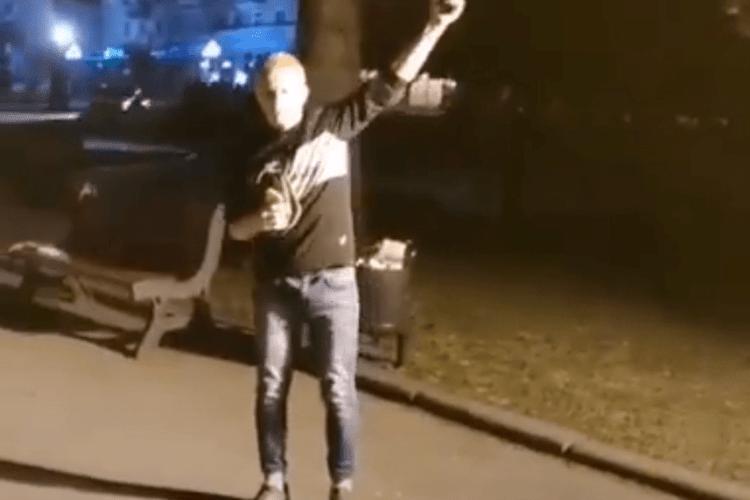 У центрі Луцька – стріляють (Відео)
