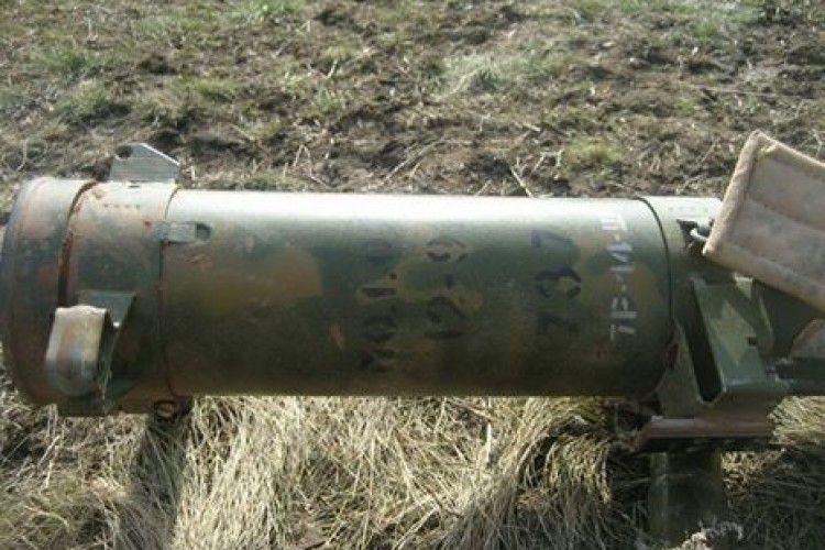 На Світлодарській дузі виявили вогнемет «Шмель» – згубили «ихтамнет» (фото)