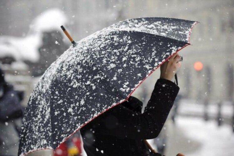 Погода на вівторок, 22 грудня: Ганна Зимова принесе трохи мокрого снігу з дощем