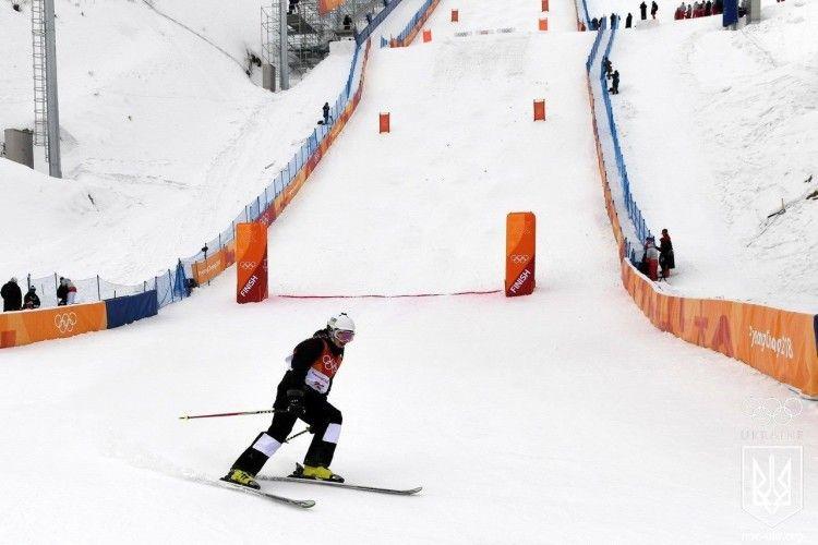 На Зимовій Олімпіаді виступила перша спортсменка від України