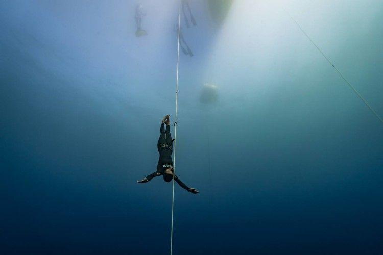 Українка пірнула на глибину 70 метрів без спорядження (Фото)