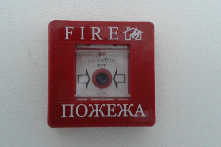 Жительку Горохівщини розбудило полум'я