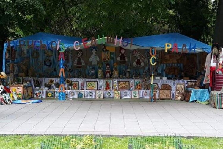 Турійчани дев'ять років поспіль кращі в сфері декоративного та образотворчого мистецтва (Фото)