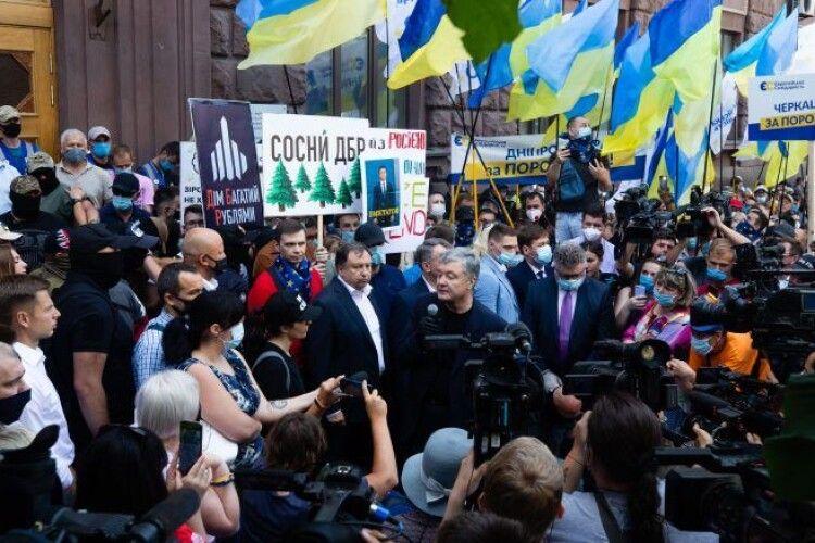 Петро Порошенко під ДБР: «кварталівські штучки» в Україні вже не проходять, ми захистимо Україну