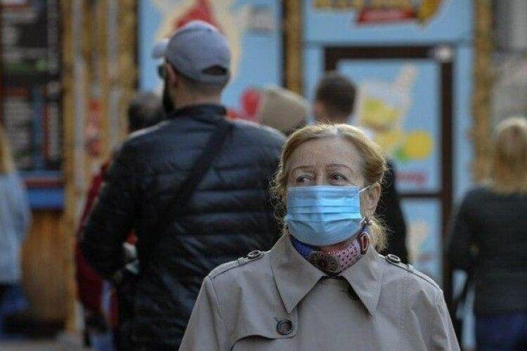 В Україні за добу – менше 1000 нових випадків COVID-19. На Волині 21