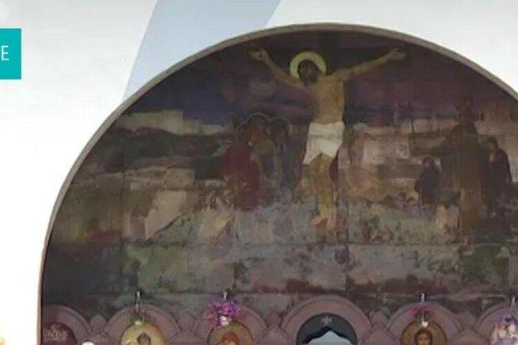 Рівненський проєкт реставрації 100-літнього іконопису «Голгофа» узгодять в Міністерстві культури