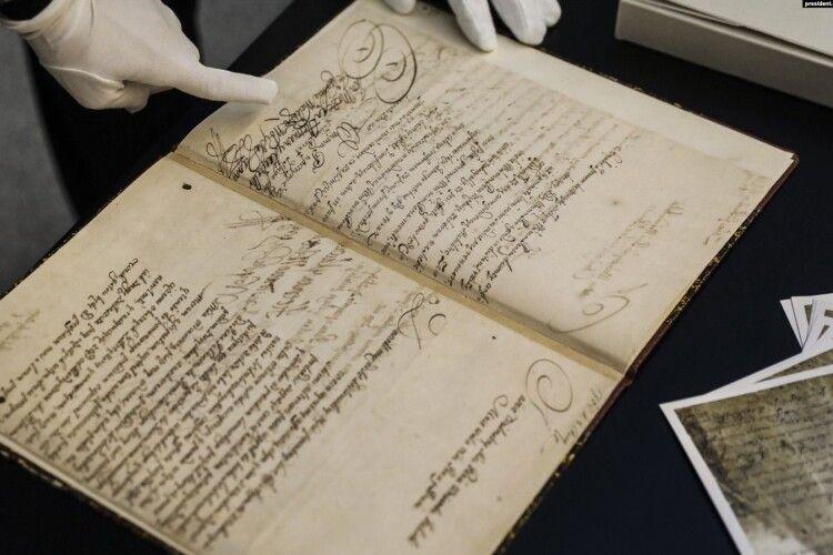 Уперше за 311 років оригінал Конституції Пилипа Орлика потрапить до України