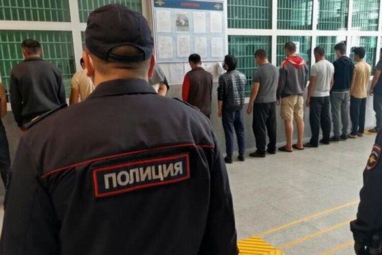 У центрі Москви сталась масова бійка, поліція затримала 49 осіб