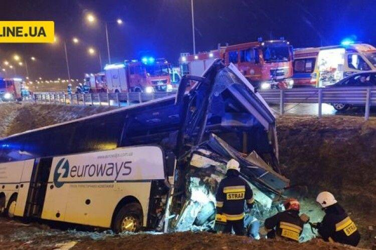 ДТП з українцями у Польщі: показали відео зі злощасним автобусом