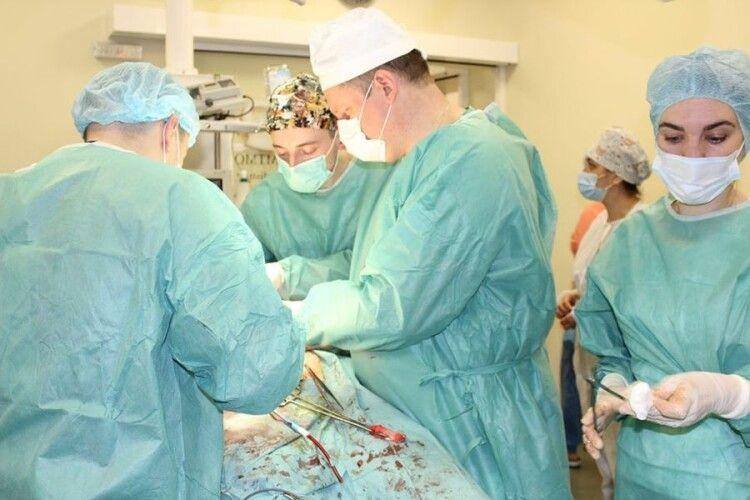 У Ковельському МТМО пересадили не тільки серце, а й нирку