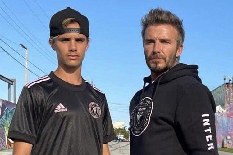Бекхем-молодший дебютував у дорослому футболі
