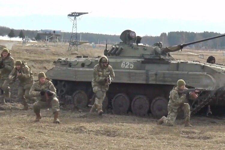 На Камінь-Каширщині проведуть навчальні військові бої