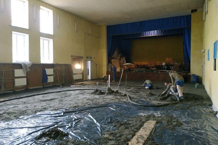 У Дубечному реконструюють приміщення сільради