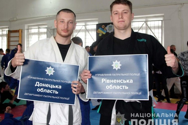 У Рівному стартував чемпіонат України з джиу-джитсу серед поліцейських