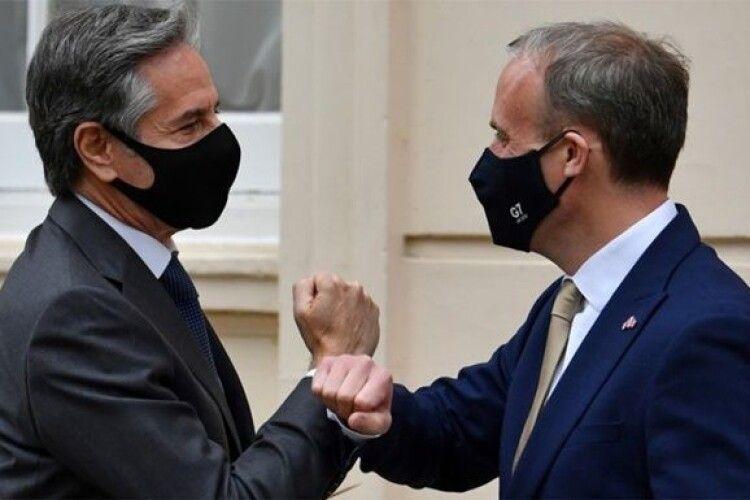 США і Британія заявили про підтримку України