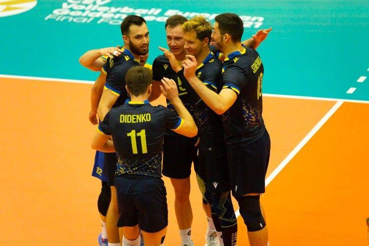 Українські волейболісти виходять у фінал Золотої Євроліги