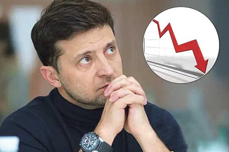 Більше провалів, ніж перемог: українці оцінили Зеленського