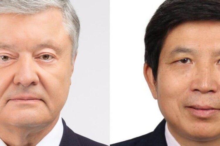 Петро Порошенко обговорив з послом КНР Фань Сяньжуном питання поставок вакцини від коронавірусу