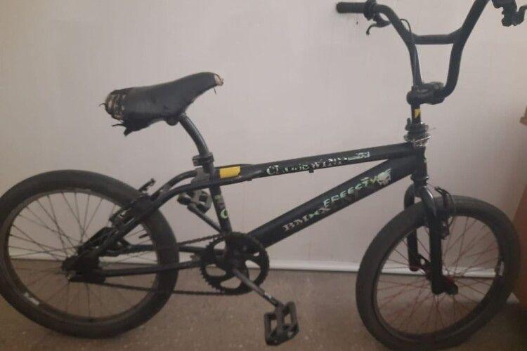 Волинські копи шукають власника велосипеда