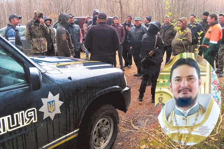 Жителі Седлища начолі зісвященником протестують проти вирубки сосен