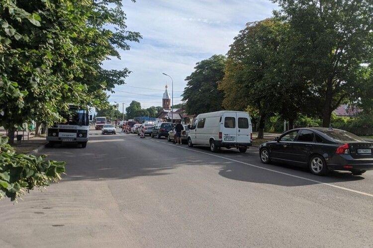 У Володимирі з самого ранку – затори через ремонт вулиці