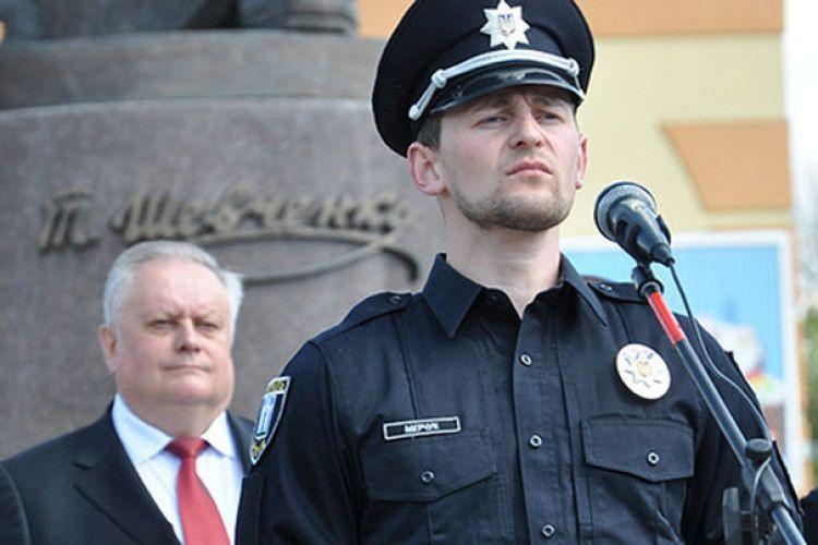 Майданівець із Ківерцівського району став керівником патрульної поліції Рівного