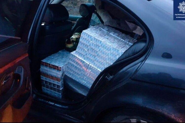 У Ковелі правоохоронці виявили 10 ящиків сигарет без акцизних марок
