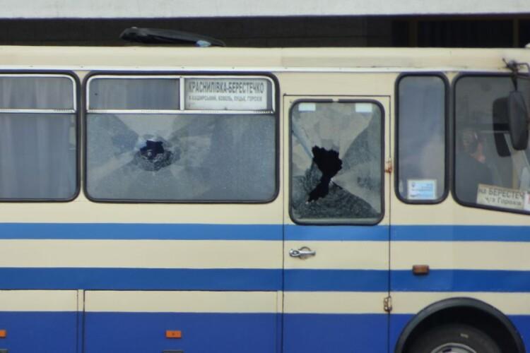 Водій захопленого автобуса розповів, як усе було (Аудіо)