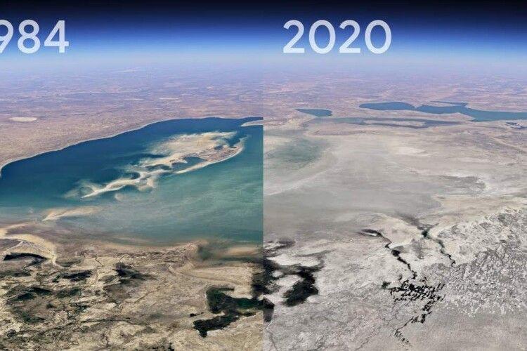 Як змінилися міста світу за 37 років (відео)