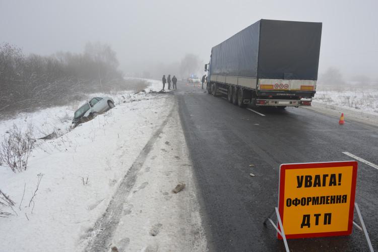 Біля Ковеля водійка «Audi» спричинила аварію (Фото)
