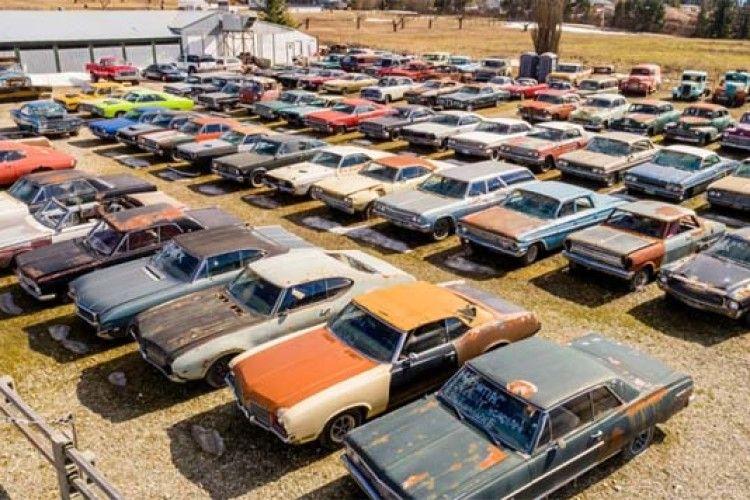 У Канаді продають... автомобільне  кладовище