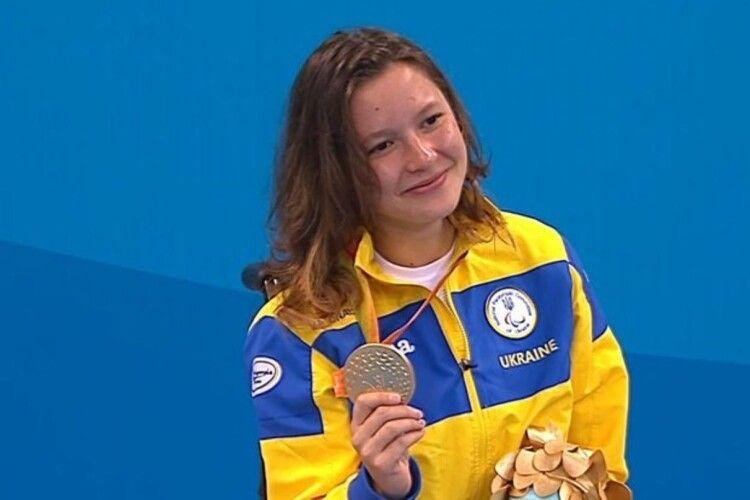 Україна здобула перше «золото» на Паралімпіаді