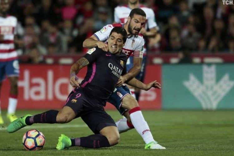 «Барселона» без Мессі розгромила «Гранаду» Кравця