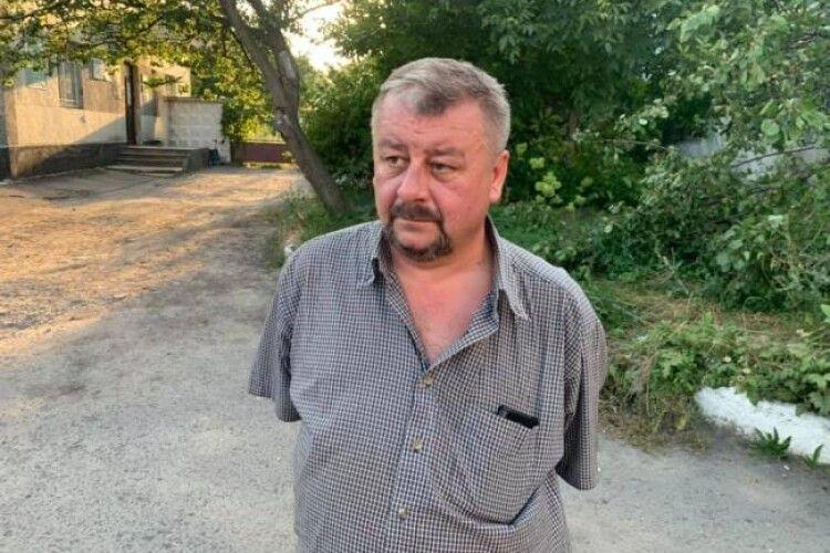 Експрокурору, якого спіймали п'яним за кермом, не сподобалося, що його знімають (Відео)
