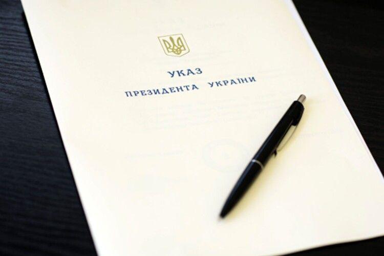 Президент присвоїв викладачу луцького вишу почесне звання