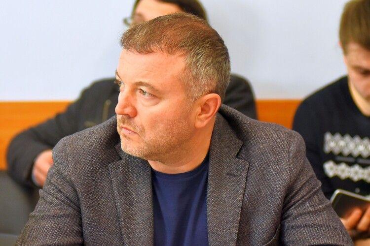 Андрій Покровський пожертвував півмільйона гривень набезпеку обласного центру Волині