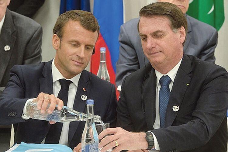 Чому посварились президенти Франції та Бразилії