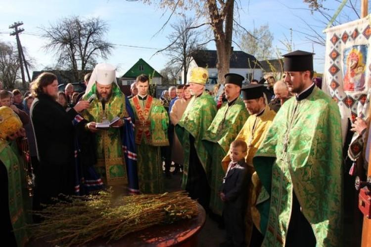 У Велимчі на Ратнівщині освячено каплицю (фото)