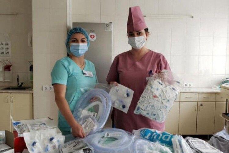 Луцькій лікарні передали особливу гуманітарну допомогу