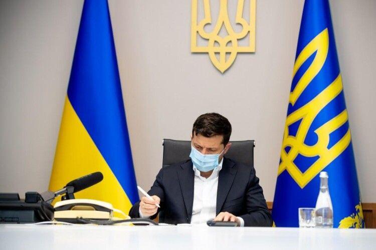Президент Зеленський звільнив очільників трьох ОДА
