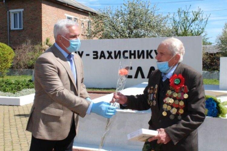 Нововолинському ветерану, який пройшов від Харкова до Будапешта, вручили медаль