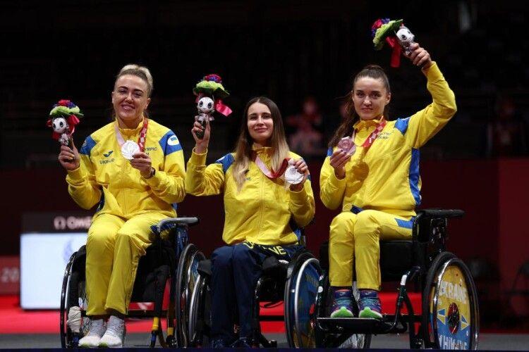 Українці на Паралімпіаді у Токіо сьогодні завоювали 13 медалей