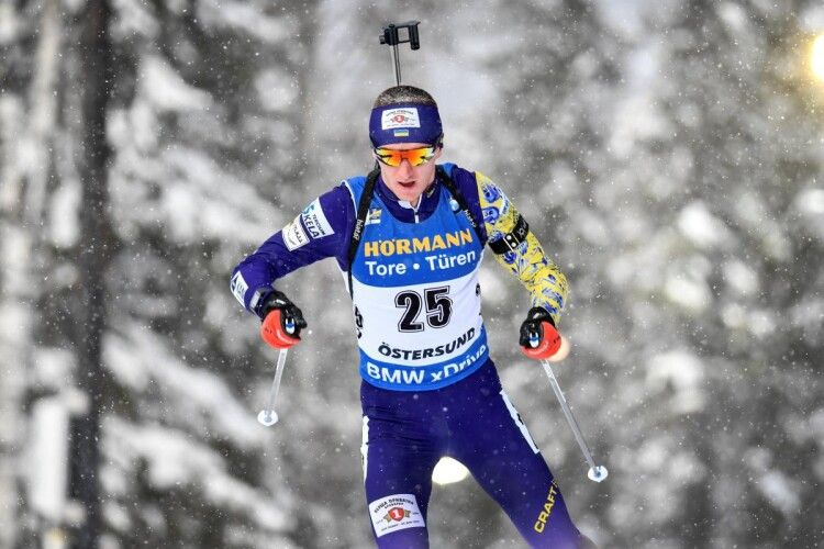 Дмитро Підручний фінішував шостим у спринтерській гонці в Гохфільцені