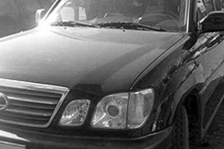 У Луцьку вкрали дорогий Lexus