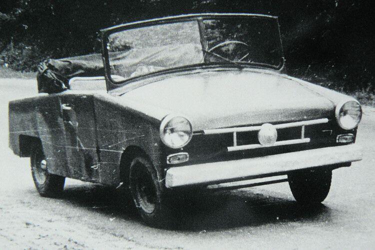 60років тому майстер ізТорчина «склепав» авто, яке могло щей орати тасіяти