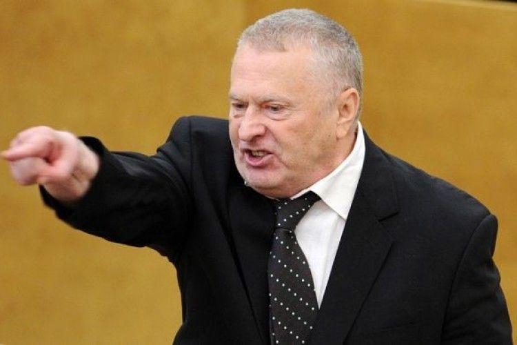 Жириновський українцям: «Будемо розстрілювати вас»
