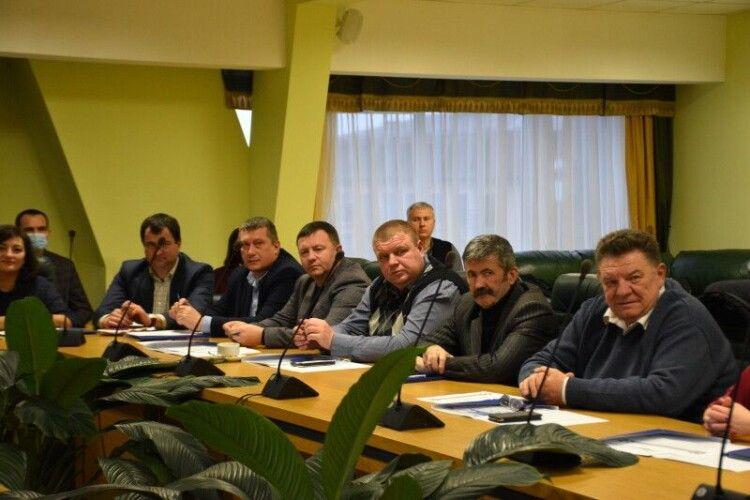 Обрали голову Волинського регіонального відділення Асоціації міст України